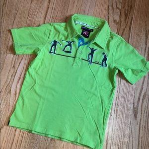 Green Tony Hawk shirt size 7